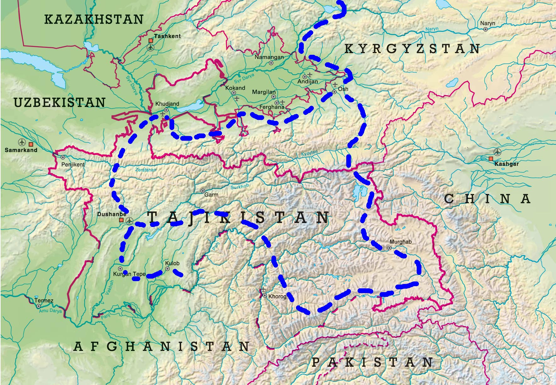 HIGH KARST of PAMIR (Tajikistan)