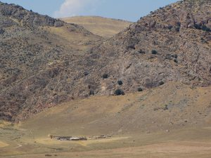 Expedition to the limestone region of Tacta-Boz. First half of august